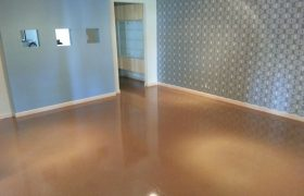 Concrete Staining In Home