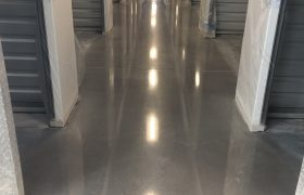 Warehouse Concrete Floor Polishing