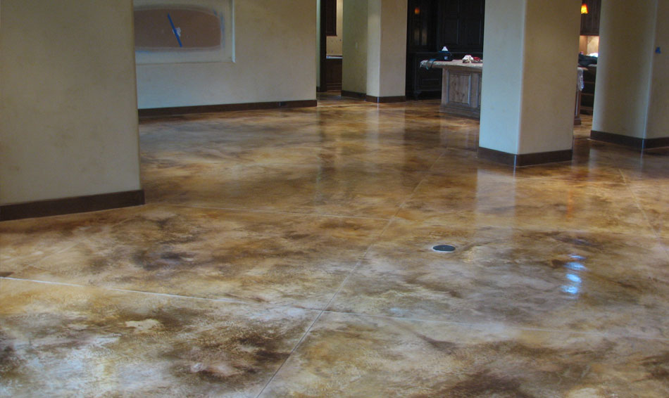 Concrete Staining Phoenix Acid