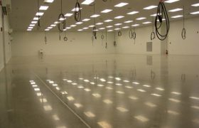 Manufacturing Facility Concrete Floor Polishing