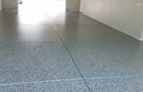 Epoxy-Chip-Flooring-Garage