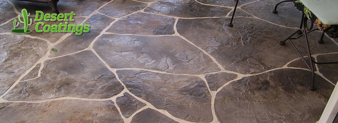 Stamped Concrete Flooring Phoenix Overlay Desert Coatings