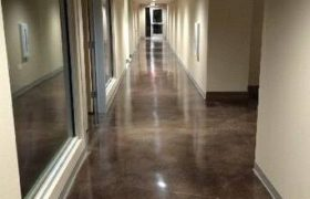 Troweled Concrete Flooring Office