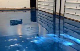 Troweled Epoxy Flooring