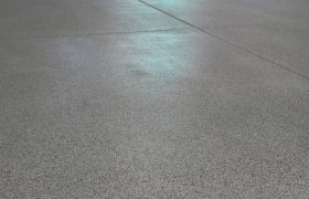 Garage Chip Flooring