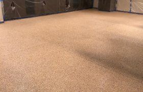 Garage Flooring Installation