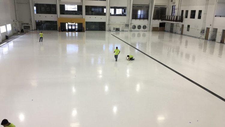 Cleaning Epoxy Floors